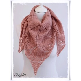 FOR FREE: Knitting Pattern MY FIRST LACE SHAWL