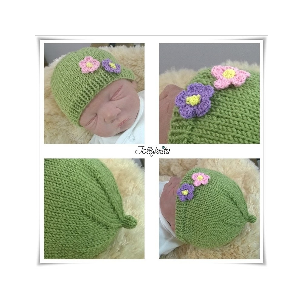 FOR FREE: Knitting Pattern Hat VIVI