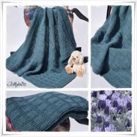 Knitting Pattern Baby blanket SANJA