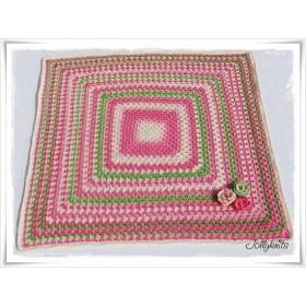 Crochet Pattern Baby blanket SPRING