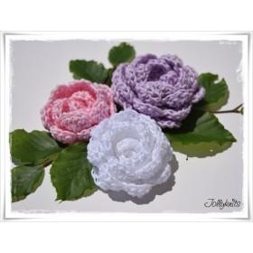 Crochet Pattern PEONY