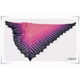 Knitting Pattern Lace Shawl CAPE DAISY