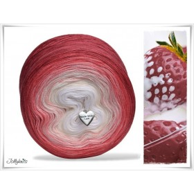 Gradient Yarn Merino STRAWBERRY & CREAM