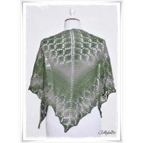 Knitting Pattern Lace Shawl IRISH MOSS