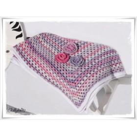 Crochet Pattern Baby blanket CLOUD 8