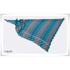 Knitting Pattern Lace Shawl EMERALD DREAM