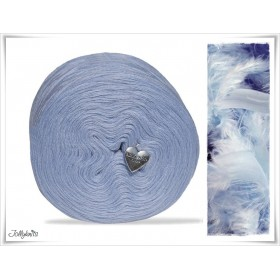 Solid Yarn Merino POWDER BLUE