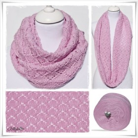 Knitting Pattern Cowl ROSE GARDEN