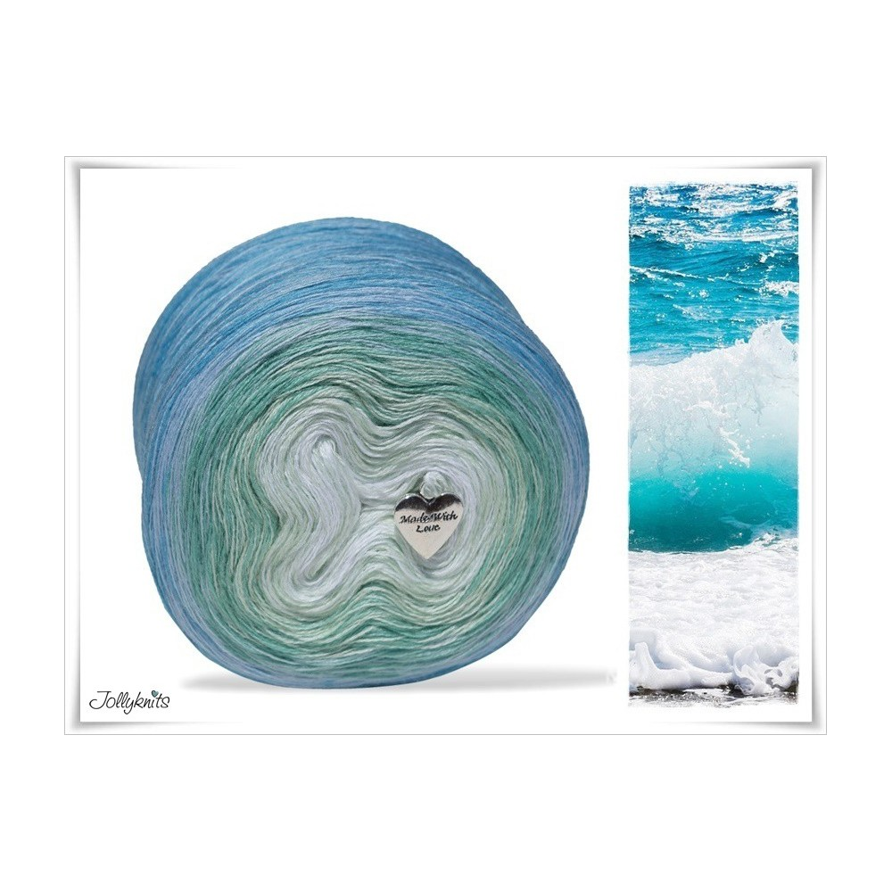 Gradient Yarn Merino SEA BREEZE
