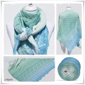 Strickanleitung Lacetuch SEA BREEZE