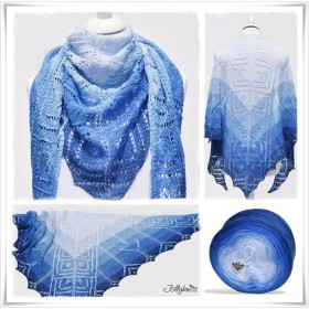 Knitting Pattern Lace Shawl MARE