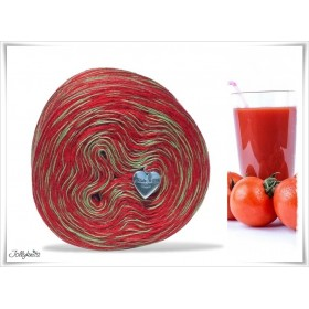 Mottled Yarn Merino TOMATO JUICE