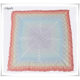 Strickanleitung Babydecke Little Unicorn