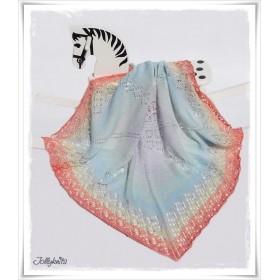 Knitting Pattern Baby Blanket LITTLE UNICORN