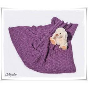 Knitting Pattern Baby Blanket MY VIOLYN