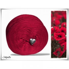 Solid Yarn Merino CARMINE RED