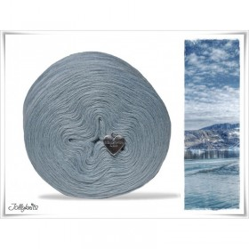 Solid Yarn Merino DARK ICE BLUE