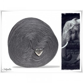 Solid Yarn Merino ELEPHANT GREY