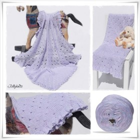 Knitting Pattern Baby Blanket FAIRYTALES