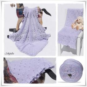 Knitting Pattern Baby Blanket FAIRYTALES