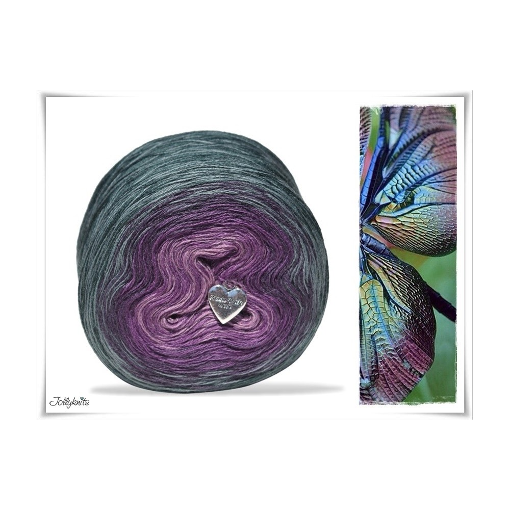 Gradient Yarn Merino DRAGONFLY