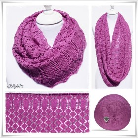 Knitting Pattern Cowl MALVA