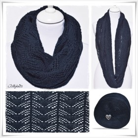 Knitting Pattern Cowl NIGHT SKY
