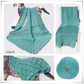 Knitting Pattern Baby Blanket ATLANTIS