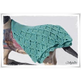 Knitting Pattern Baby Blanket ATLANTIS
