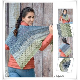Knitting Book - WITH GRADIENT YARN AROUND THE WORLD