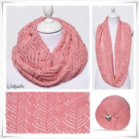 Knitting Pattern Cowl WILD ROSE