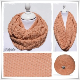 Knitting Pattern Cowl SALMO