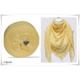 Product bundle Knitting pattern CITRONELLA + Solid Yarn Merino CITRON