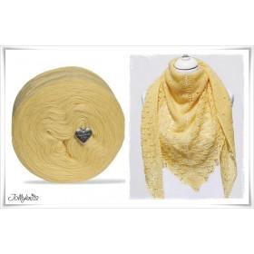 Produktkombination Strickanleitung CITRONELLA + Wolle einfarbig Merino CITRON