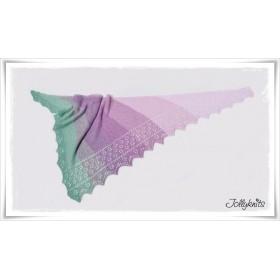 Knitting Pattern Lace Shawl SPRING BREAK