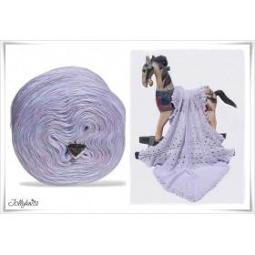Product bundle Knitting pattern + Mottled Yarn FAIRYTALES