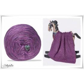 Product bundle Knitting pattern + Mottled Yarn MY VIOLYN