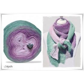 Product bundle Knitting pattern + Gradient Yarn SPRING BREAK