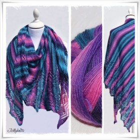 Laceshawl Magic Stripes