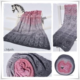 Knitting Pattern Baby Blanket PINK ELEPHANT