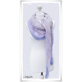 Knitting Pattern Lace Shawl ENDLESS SUMMER
