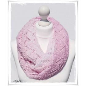 Knitting Pattern Cowl EVERLASTING LOVE