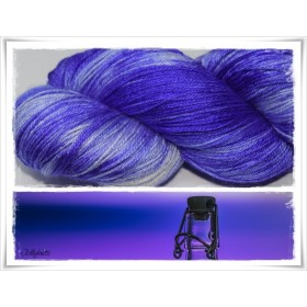 Gradient Yarn hand dyed  VIOLET