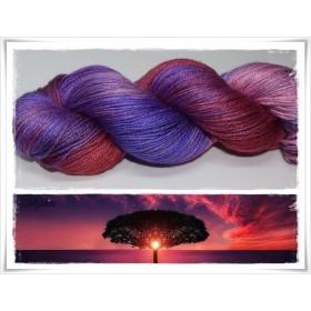 Gradient Yarn hand dyed SUNDDOWNER