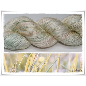 Gradient Yarn hand dyed MELON AND MINT