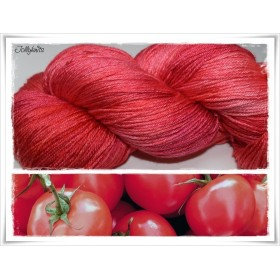 Gradient Yarn hand dyed  TOMATO