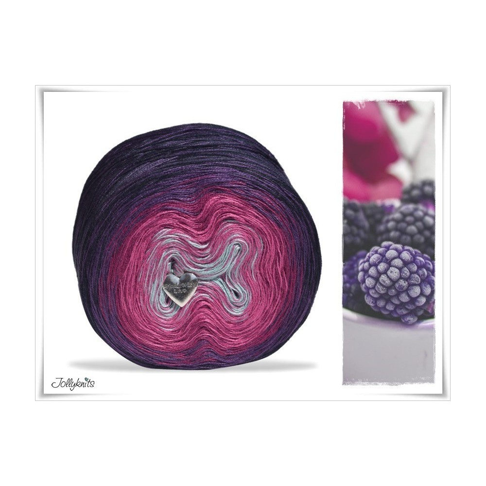Gradient Yarn Cotton SWEET BERRY