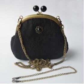 Shabby Chic carry bag, black