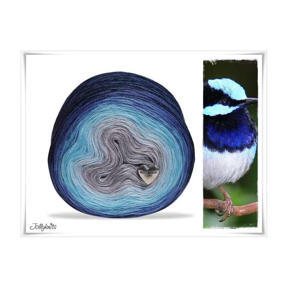 Gradient Yarn Merino FAIRY WREN