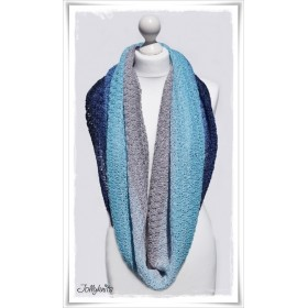 Knitting Pattern Cowl FAIRY WREN